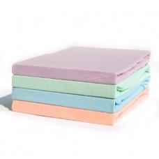 Linon Bettlaken farbig (gelb, rosé, grün, blau)